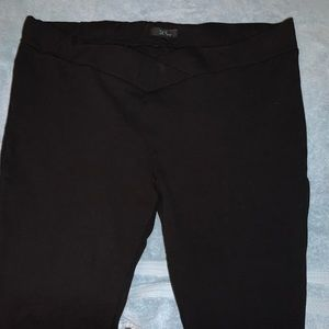 Pants - BLACK STRECH PANTS